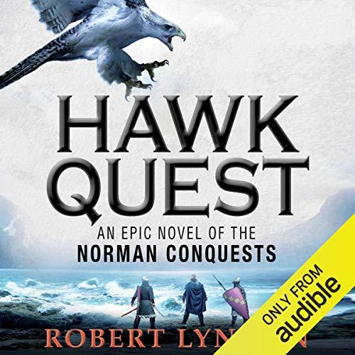 Hawk Quest audiobook cover art