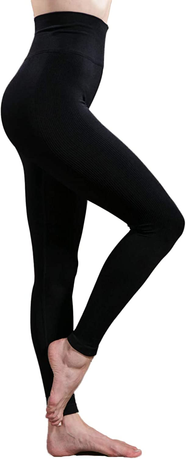 Warmfort High material Womens Tight Tummy Control Rare Pants Women†Yoga Workout