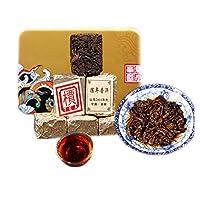 Chinese Pu'er tea 200g(0.44LB)プーアル茶こうちゃ紅茶中国茶飲料茶葉お茶Ripe Puer tea Black tea Shangpin Pu'er Tea Old Pu-erh tea Cooked tea Old trees Pu erh tea Health Care Pu er tea Healthy Puer tea Green Good