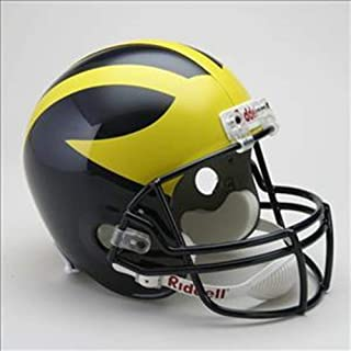 Riddell NCAA Mens Deluxe Replica Football Helmet