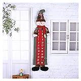 Suministros de Fiesta Exquisito Tela Adviento Calendario Celebrar Navidad Incualidad Niños Familia Decoración Colgante Calendario DE Navidad (Color : Model 2, Size : 25x90cm)