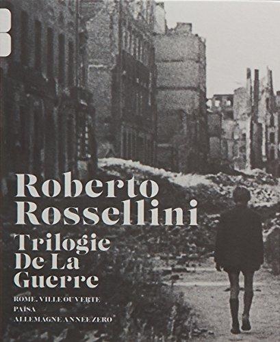 Roberto Rosselini - La trilogie de la guerre : Rome, ville ouverte + Païsa + Allemagne, année zéro [Francia] [Blu-ray]