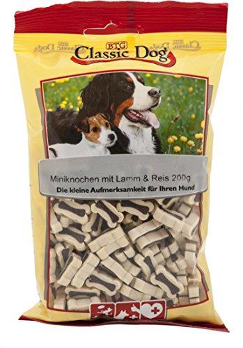 Classic Miniknochen Lamm & Reis | 12x 200g Hundesnack