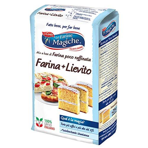 Le Farine Magiche Farina e Lievito, Lievitazione sempre perfetta, 3 Tipi diversi di Lievito, ideale...