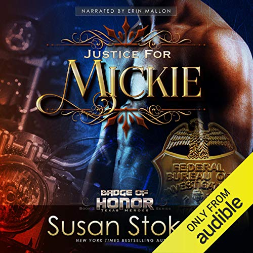 Justice for Mickie audiobook cover art