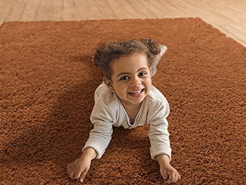 Tapijt diepe pool Sterke en stevige Shaggy pluis tapijt Meerdere kleuren om uit te kiezen Geen chemische geur 80x100cm…