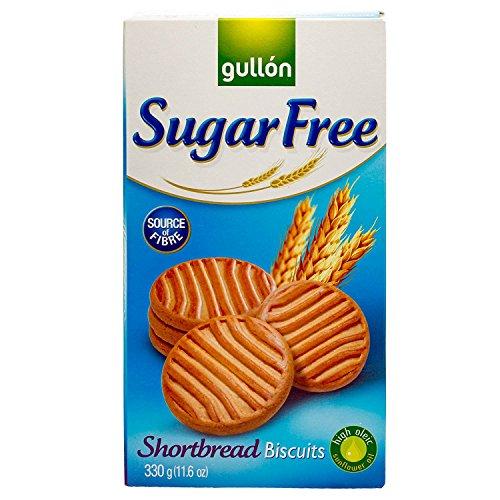 Gullon Cookie SF Shortbread Cookies, 11.63 Ounce, 330 Gram (1 Pack)