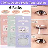 Best Eyelid Tapes - 720Pcs/6Packs Natural Invisible Single Eyelid Tape Stickers Medical-use Review
