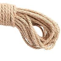 Cuerda gruesa y resistente de yute natural de