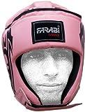 Farabi Female Boxing MMA Muay Thai Kickboxing jiu Jitsu Karate Taekwondo BJJ Martial Arts Training Punching Face Protector Head Guard. (Medium)