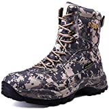 Cungel Cungel Men's Tactical Military Boot Waterproof Digital Camo Work Combat Boots 8 Inch Lightweight Breathable Durable High-cut(digital camo,11)