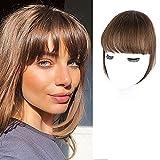 CAUGHTOO Clip in Bangs 100% Human Hair Extensions...
