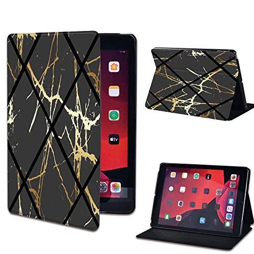 Leather Flip Case for IPad 2 3 4 9.7 Inch/iPad Mini 1 2 3 4 5/iPad Air 3 10.5 Inch/iPad Pro 11 Tablet Stand Cover-11.black geometric_iPad Air 3 10.5