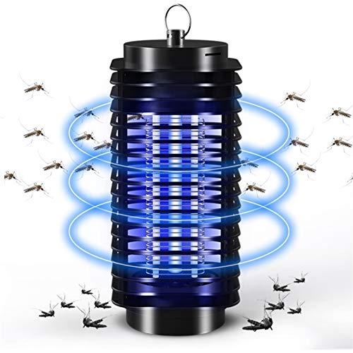 WJY Lámpara Antimosquitos, 3W Lámpara Mata Insectos Electrico, Lámpara Mata Insectos Electrico...