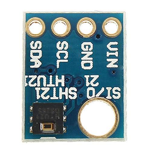 Fácil de montar GY-21 Sensor de humedad HTU21D Con I2C interfaz for aplicaciones industriales de alta precisión for A-r-d-u-i-n-o - productos que funcionan con placas A-r-d-u-i-n-o oficiales 5Pcs conv