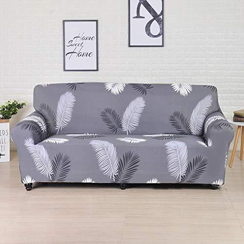 Funda de sofá de poliéster de Color sólido Funda de sofá Antideslizante de Alta Elasticidad Funda Protectora Universal para Silla de Muebles A22 4 plazas