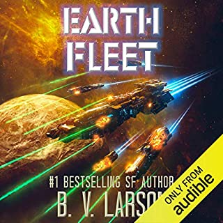 Earth Fleet     Rebel Fleet, Book 4              Written by:                                                                                                                                 B. V. Larson                               Narrated by:                                                                                                                                 Mark Boyett                      Length: 10 hrs and 30 mins     12 ratings     Overall 4.6