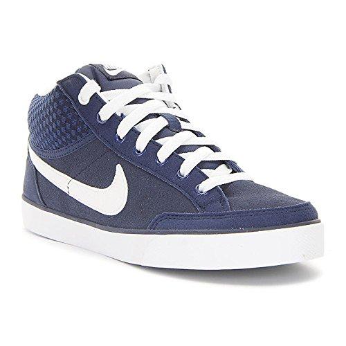 Nike Jungen Capri 3 Mid Ltr (GS) Tennisschuhe, Azul/Blanco (Midnight Navy/White), 38 1/2 EU