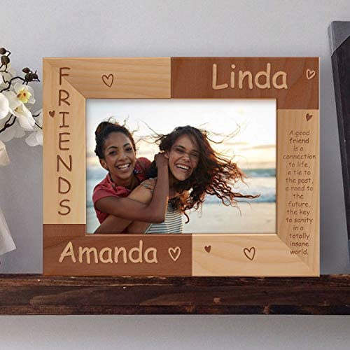 Center Gifts Friends Personalized Wooden Frame-7