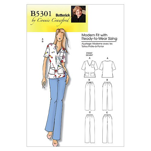d3721932536 BUTTERICK PATTERNS B5301 Misses  Women s Top and Pants