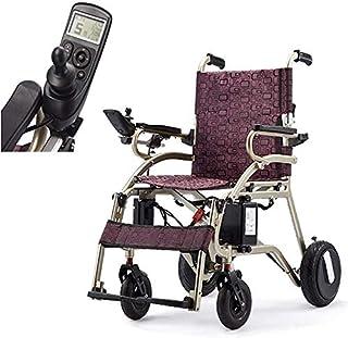 Wheelchair Silla De Ruedas Eléctrica, Ligero Plegable De La Batería De Litio, Inteligente, Ancianos Inválidos, Eléctrica Silla De Ruedas De Aleación De Aluminio