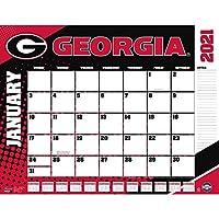 TURNER Sports Georgia Bulldogs 2021 22X17 デスクカレンダー (21998061479)