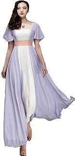 Titanic Rose Chiffon Celebrity Dress Evening Dress Prom Gown Maxi Dress