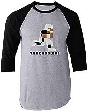 Tecmo Bo 8-Bit Video Gaming Raglan Baseball Tee Shirt