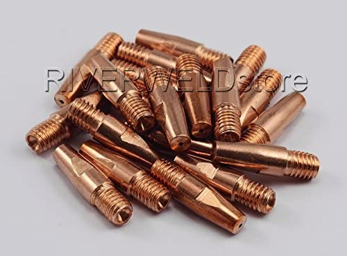 Contact Tip Philadelphia Mall Sales for sale 0.9 M8 x 30 Fit Torch Welding MIG MB36 MAG 20PK 36KD