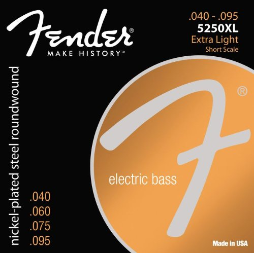 Fender 5250 Cuerdas de bajo de escala corta