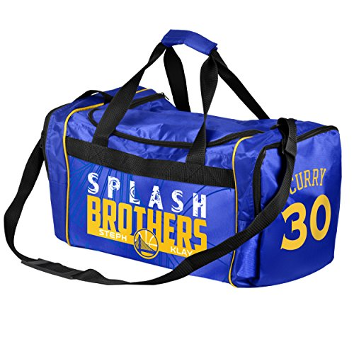 Golden State Warriors Steph Curry #30 und Klay Thompson Splash Brothers Core Duffle