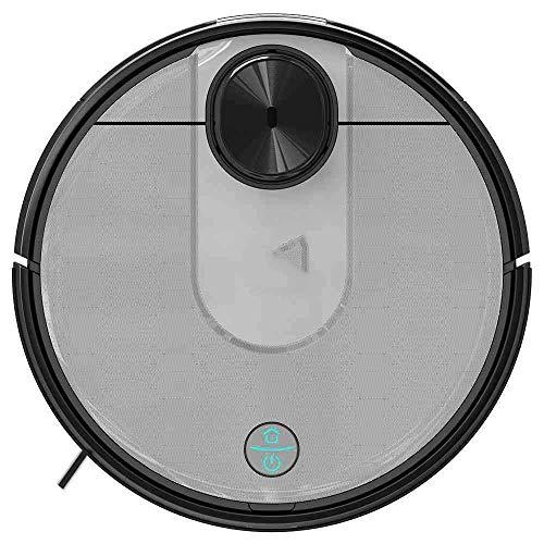 SEESEE.U 2100Pa Selbstsaugender Roboter-Staubsauger mit starker Saugkraft LDS-Sensor 2 in 1 Kehrwischen