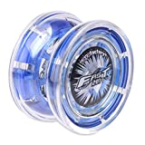 YOYO Factory Fast 201 Professional YoYo for Beginners to Intermediate with Adjustable Response, Blue