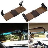 Universal HD Blendschutz-Auto-Sonnenblende Flip Shield Tag und Nachtsichtbrille für Driver