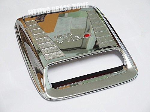 NEW Chrome Hood Scoop Turbo Cover Fits Toyota Hilux Vigo Sr5 Mk6 2005-2010 06 07 08 09