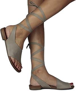 Erkan Kaban 131203 319 Kadın Vizon Deri Sandalet 45
