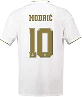 Real Madrid Home Luka Modric #10 Jersey 2019/2020 Men's Soccer Jersey White