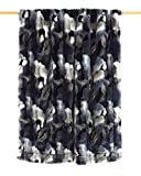Textiles Mora Plaid Imitación Piel Dinka – 130X170Cm – Azul Negro - Sofás, unisex