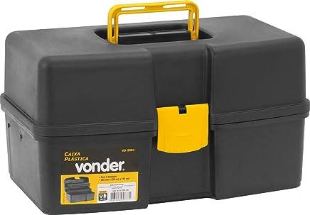 Caixa Plástica VD 2001, com 2 Bandejas, Vonder VDO2542
