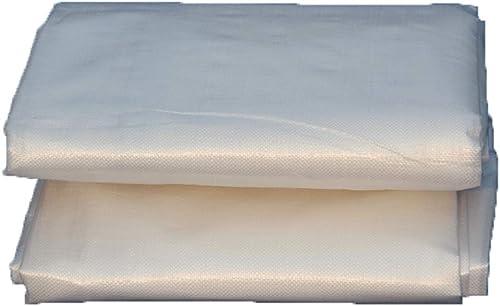 KYSZD-Baches Bache Transparent Imperméable Résistant à La Pluie Imperméable Résistant Aux UV Résistant Camping Abri avec Métal en Plastique Oeil Tissu en Plastique Couverture Au Sol Transparente