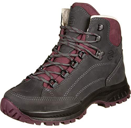 Hanwag Alta Bunion Schuhe Damen Asphalt/Dark Garnet Schuhgröße UK 7 | EU 40,5 2020