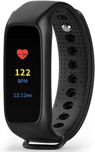 Hommes Femmes Smart Bracelet cardiofréquencemètre Sleep Tracker L28T Evolution Edition Mode Casual Montre-Bracelet