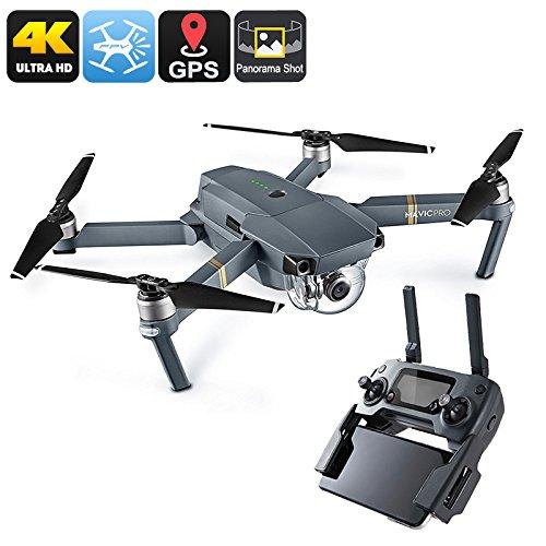 Drone DJI Mavic Pro GPS/GLONASS Range 6 Miglia Fotocamera 4K 65Kmh FPV