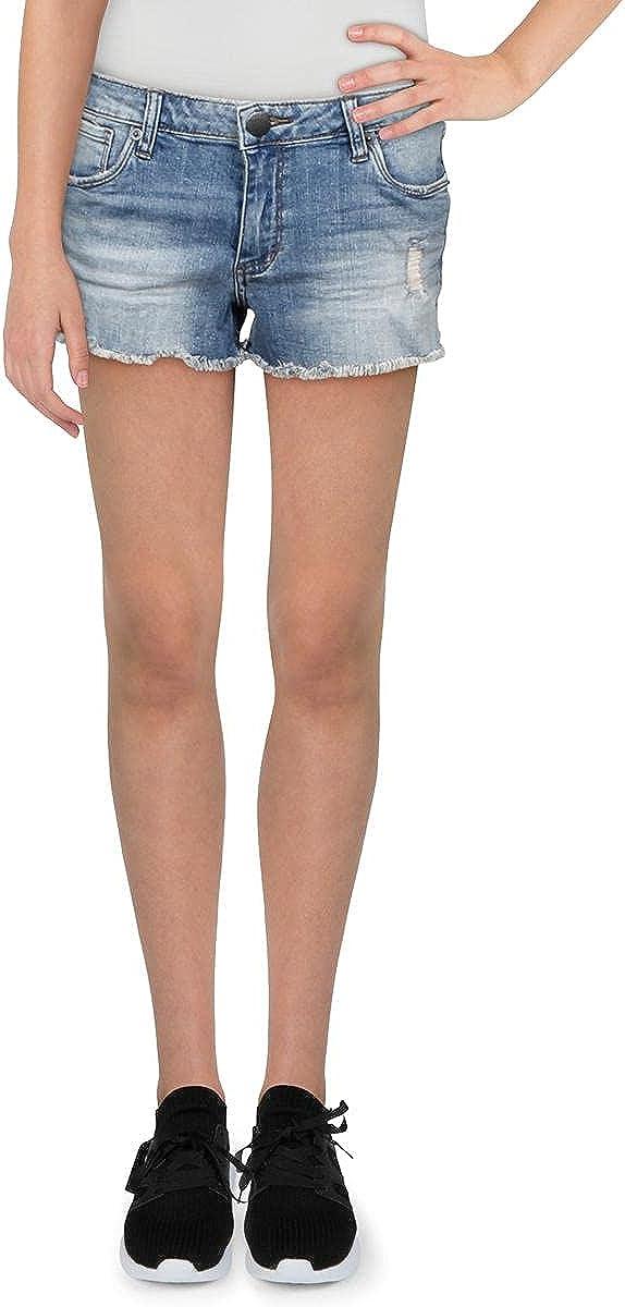 STS Blue Womens Aubrey Denim Distressed Cutoff Shorts