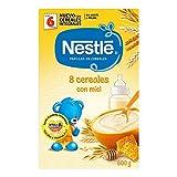Nestlé - Papillas 8 Cereales Con Miel A Partir De 6 Meses 600 g