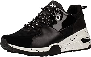 XTI 49595 Womens Sneakers Black