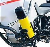 WINDFRD Drink Holder with Double Socket Arm Base for Motorcycles,ATV,Big Rigs,etc 360 Degree Adjustable (U-Type Base)