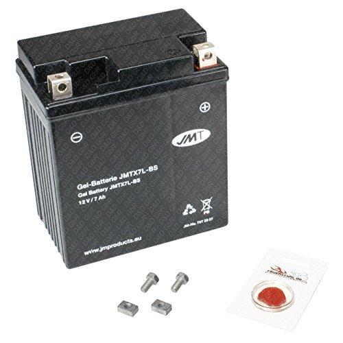Gel-Batterie für Honda Dylan 125, 2002-2006 (JF10), wartungsfrei, inkl. Pfand €7,50