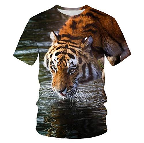 Animal Print Tiger In Water 3D Mantel Rectangular Cuadrado Plegable Cubierta De Mesa Jardín De Poliéster Impermeable para Muebles De Cocina-XL