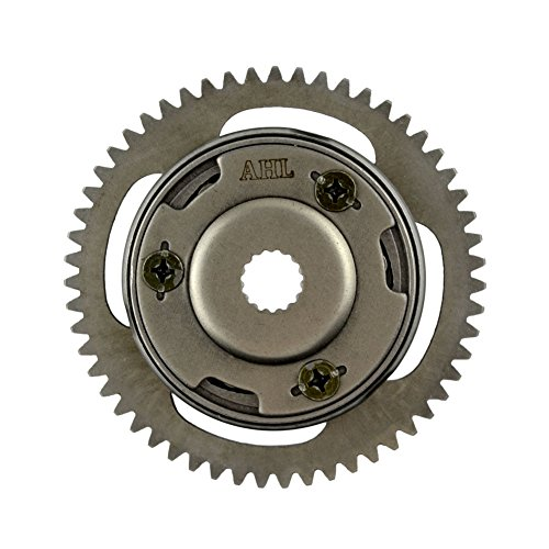 AHL Starter Clutch One Way Bearing Gear Assy for Yamaha Grizzly 125 2004-2013 Breeze 125 1991-2004